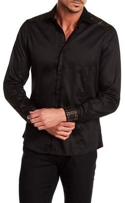 TR Premium Slim Fit Studded Dress Shirt
