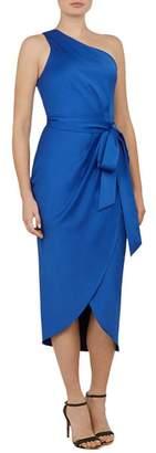Ted Baker Gabie One-Shoulder Draped Dress