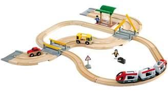 Brio Rail & Road Travel Toy Set