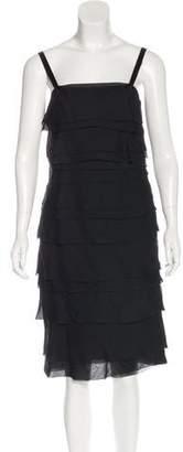 Lanvin Tiered Midi Dress