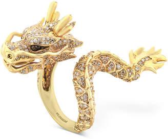 Effy Diamond Dragon Ring (1 ct. t.w.) in 14k Gold