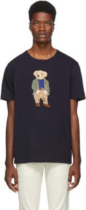Ralph Lauren Purple Label Navy Polo Bear T-Shirt