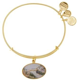Alex and Ani Creation of Adam Charm Expandable Wire Bracelet