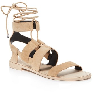 Rebecca Minkoff Giada Lace Up Sandals $125 thestylecure.com