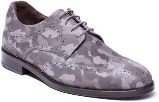 Jared Lang Caleb Camo Wingtip Derby