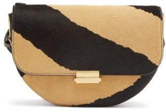 Wandler Anna Zebra Print Calf Hair Belt Bag - Womens - Animal