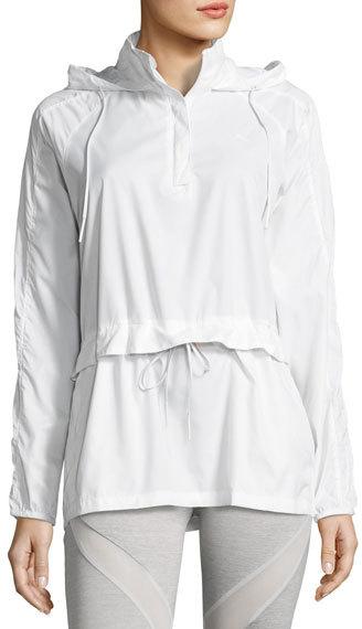 PumaPUMA Half-Zip T7 Wind-Resistant Jacket, White