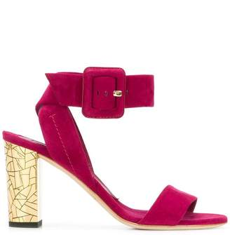 Brian Atwood buckle strap sandals