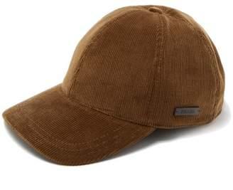 Prada Corduroy Baseball Cap - Mens - Khaki