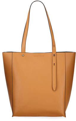 Rebecca Minkoff Stella Large Leather Tote Bag, Beige