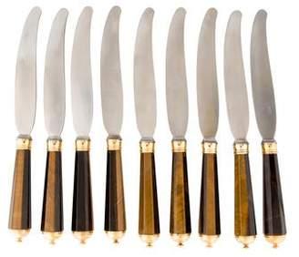 Neiman Marcus Peter Paris Tiger Eye Knives