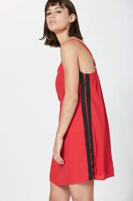 Sport Stripe Slip Dress