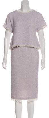 Rebecca Taylor Tweed Skirt Set