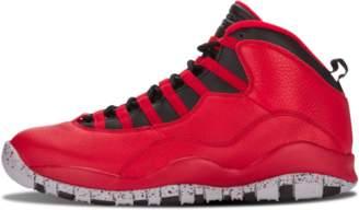Jordan Air 10 Retro 30th 'Bulls Over Broadway' - Gym Red/Black