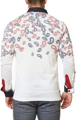 Maceoo Men's Paisley-Print Polo Shirt
