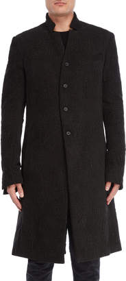 Masnada Textured Weave Overcoat
