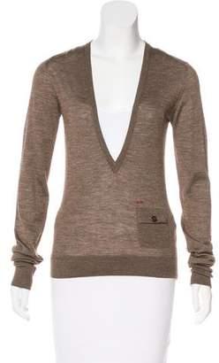 DSQUARED2 Wool & Silk-Blend Sweater