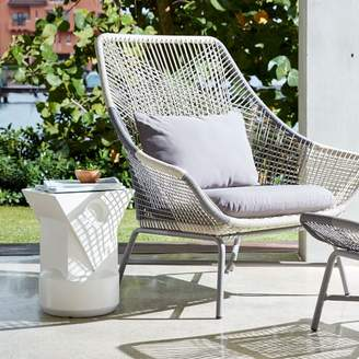 west elm Huron Outdoor Large Lounge Chair + Cushion