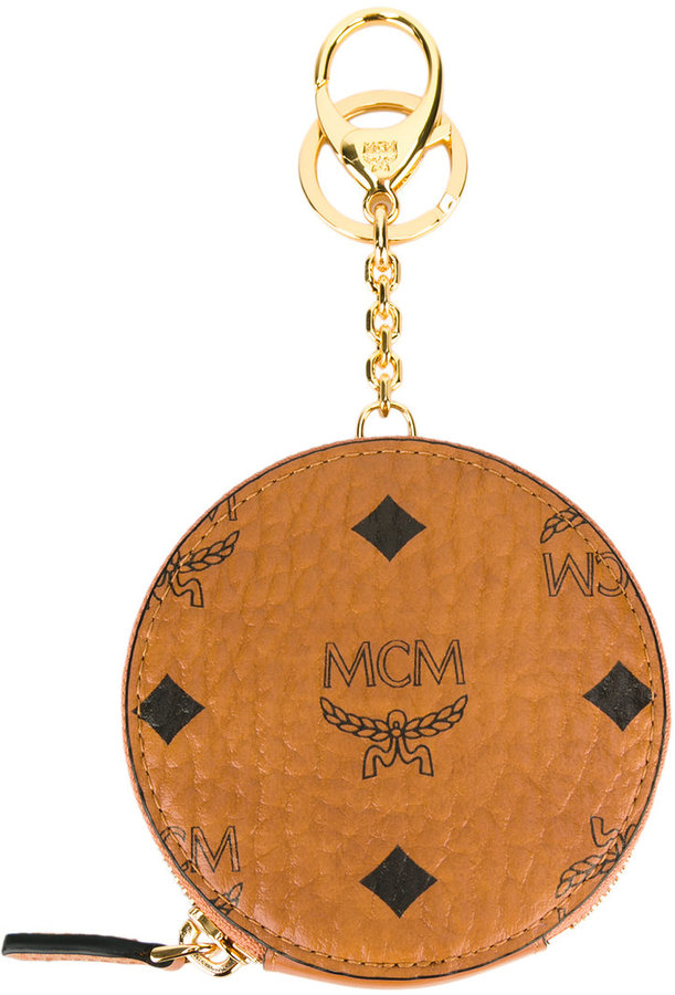 MCMMCM all around zip pouch keyring