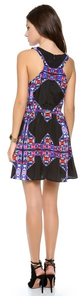 Mara Hoffman Gathered Mini Dress