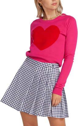 Volcom x Georgia May Jagger Heart Sweater