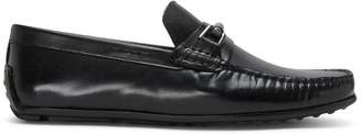 Donald J Pliner IMARI, Calf Leather and Textured Calf Leather Driving Loafer
