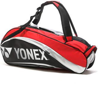 Yonex (ヨネックス) - ヨネックス YONEX テニスラケットケース BAG1612R ラケットバッグ6(リュック付)〈テニス6本用〉 BAG1612R ブラック×レッド