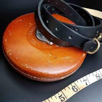 N'Damus London Ladies Leather Multiple Size Skinny Belt