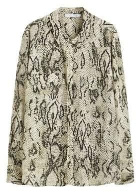 Violeta BY MANGO Snake print shirt