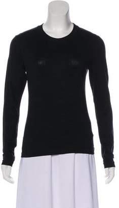 Calvin Klein Collection Long Sleeve Linen Top