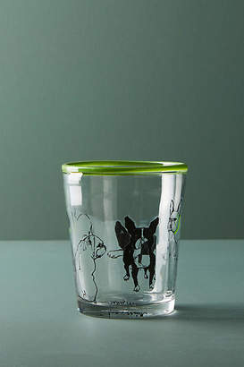 Sally Muir Dog-a-Day Juice Glass