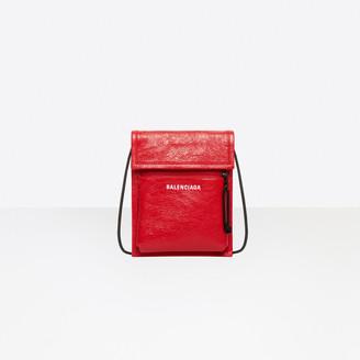 Balenciaga Explorer Pouch Strap Leather
