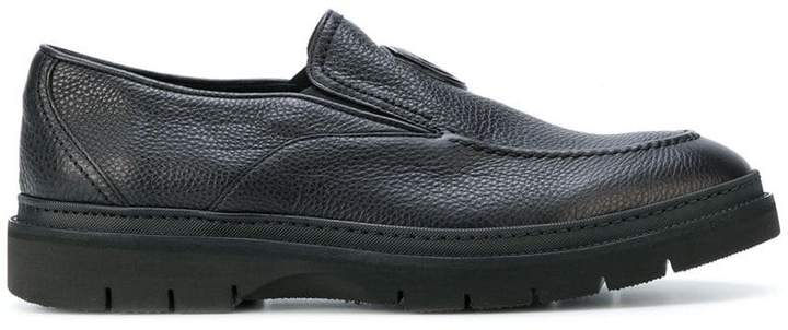 Baldinini textured loafers