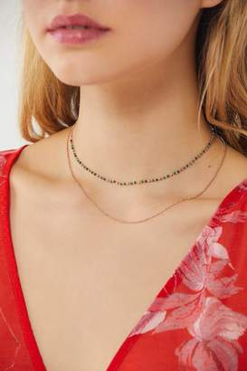 Urban Outfitters Roxie Beaded Layer Necklace