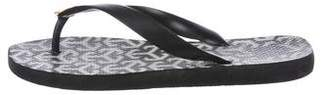 Tory Burch Rubber Thong Sandals