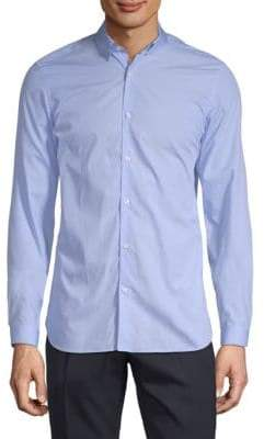 The Kooples Long-Sleeve Cotton Button-Down Shirt
