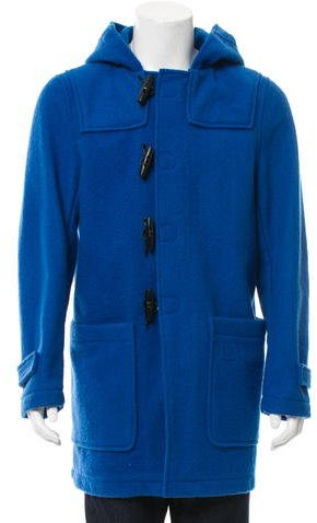 Fred Perry Raf Simons x Fred Perry Wool Toggle Coat