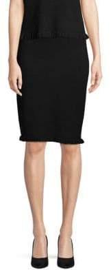 Saks Fifth Avenue Ruffled Hem Pull-On Skirt