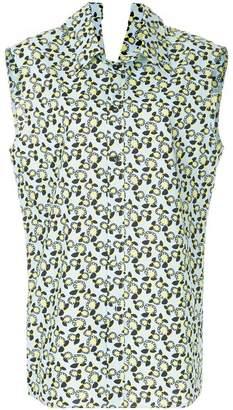 Marni sleeveless floral shirt