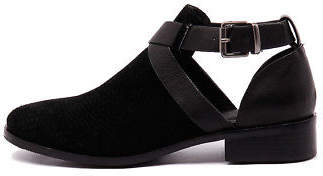 Mollini New Flours Black Womens Shoes Casual Shoes Flat