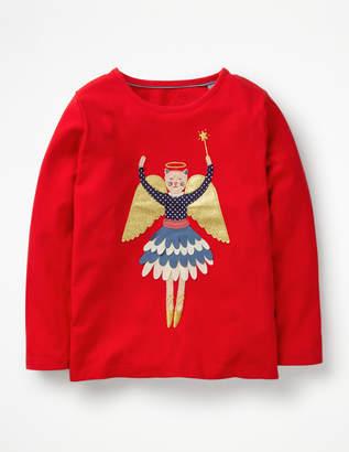 Boden Festive Flutter T-shirt