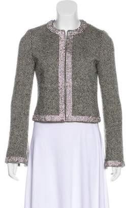 Tory Burch Wool Embellishment Jacket