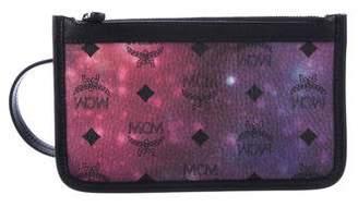 MCM Visetos Galaxy Zip Pouch