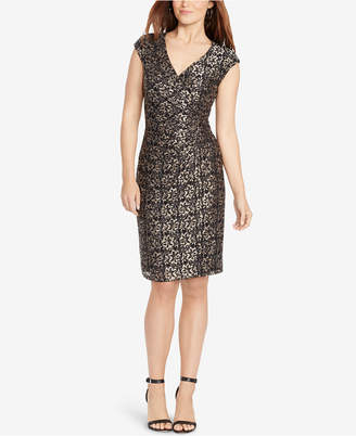 American Living Metallic Lace Dress $99 thestylecure.com