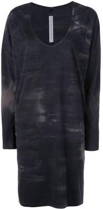 Raquel Allegra tie dye T-shirt dress