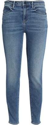 Alexander Wang Faded High-Rise Skinny Jeans