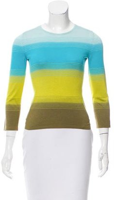 Celine Stripe Silk Top w/ Tags