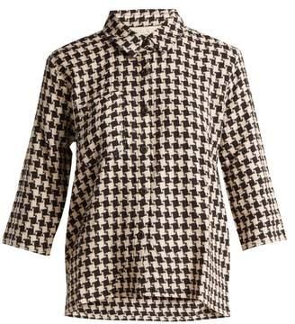 Ace&Jig Wheeler Cotton Shirt - Womens - Black White