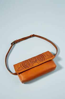 N. Cut N' Paste Eternity Tooled Leather Belt Bag