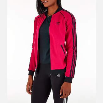 adidas Women's LEOFLAGE SST Track Jacket
